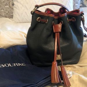 Dooney & Bourke crossbody drawstring purse